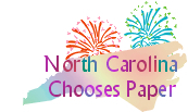 North Carolina Chooses Paper