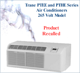 Smoking air conditioner recalled